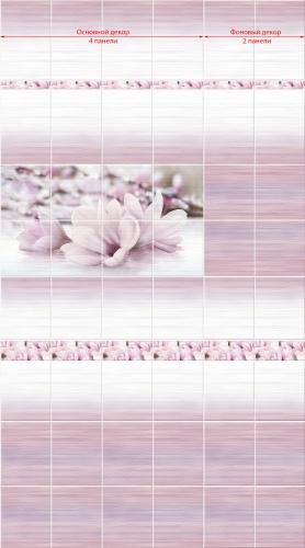 Декоративная панель VENTA Exclusive «Мелисса» 0.25x2.7