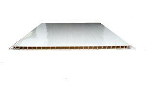Пластиковая панель Белая лакированная 250х3000мм. офсетная печать