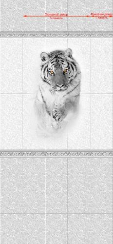 Декоративная панель VENTA Exclusive «Сибирь Тигр» 0.25x2.7