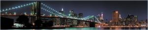 "Кухонный фартук ""Бруклинский мост"" из АБС-пластика 3000*600*1,5мм"