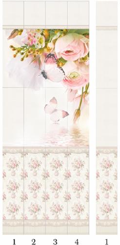Панели пвх с 3d рисунком Panda Прованс