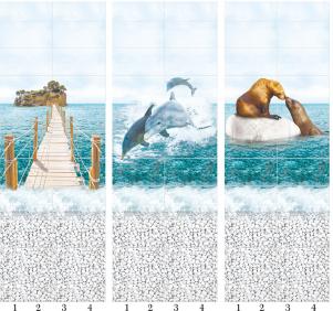 Панели пвх с 3d рисунком Море