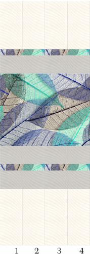 Панели пвх с 3d рисунком Симфония