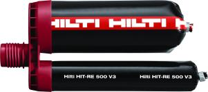Химический анкер HIT-RE 500 V3/500/1 Уникальный эпоксидный состав для восстановления арматурных выпусков и тяжелых анкерных креплений арт.2123405