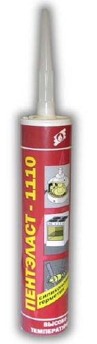 ПЕНТЭЛАСТ-1110 - однокомпонентный нейтральный термостойкий герметик 310 мл