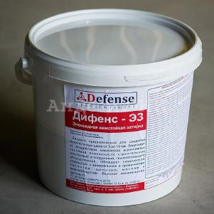 Затирка эпоксидная химстойкая для швов плитки ДИФЕНС-ЭЗ (5 кг)