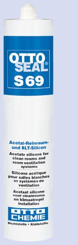 S69 OTTOSEAL® - Специальный ацетатный герметик для уплотнения чистых помещений и систем кондиционирования с высокой химической стойкостью