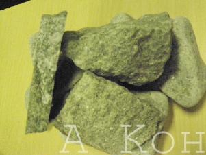 Жадеит для бани и сауны колотый (от 100 - до 300 кг)
