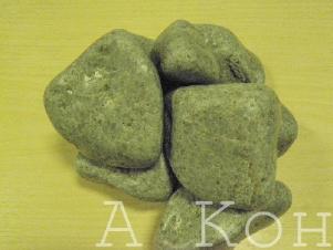 Жадеит для бани и сауны галтованный (до 100 кг)