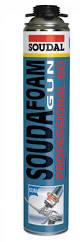 Пена монтажная Soudal Professional зимняя 60 л., 750 мл.