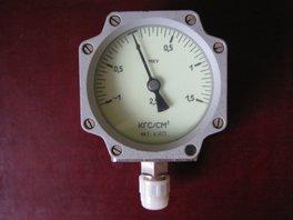 Мановакуумметр МКУ1071,-1-0+1,5кгс/см2