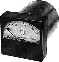 Частотомер Э8004,Э8036,габ.80х80мм,350-450Гц,45-55Гц