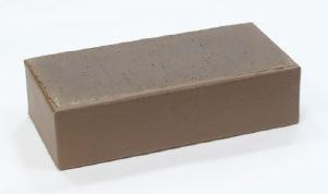 Кирпич керамический полнотелый коричневый лицевой