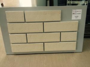 Клинкерная плитка фасадная DeKERAMIK / Опал (Белая)