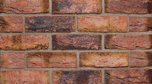 Фасадная клинкерная плитка под кирпич, ручная формовка Brickhoff, DKK300,АЛЬМЕРИЯ