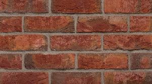 Фасадная клинкерная плитка под кирпич, ручная формовка Brickhoff, DKK374, Бордо