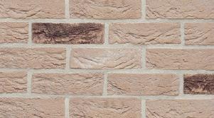 Фасадная клинкерная плитка под кирпич, ручная формовка Brickhoff, DKK407, Санторини