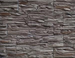 Декоративный камень для цоколя Скалистый берег, шоколад