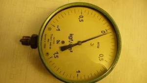 Манометр МТИ Гост 2405-80 0-1,5 кг/см