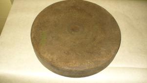 Полировальный войлочный круг 320 х 55 х 25 мм.БУ