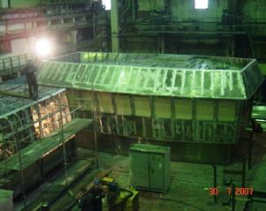 Производство корпусных работ водного транспорта
