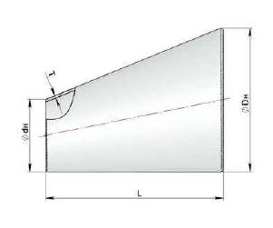 Переход эксцентрический вальцованный сварной Сер.5.903-13 вып.1-95 ст.17г1с ст.09г2с