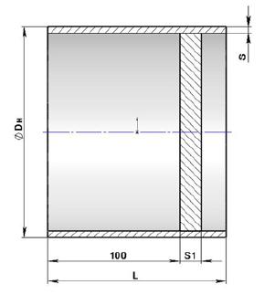 Заглушка плоская приварная ОСТ 34-10-758-97