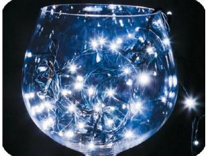Гирлянда светодиодная 10м цвет синий