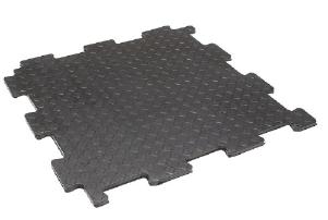 """Резиновая плитка для пола """"Резиплит-10"""" Бюджетное покрытие для пола гаража или склада"""