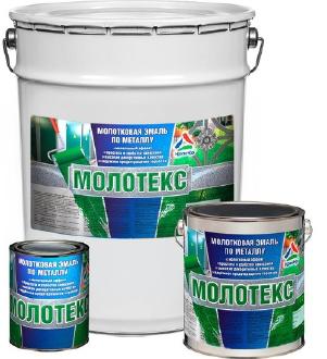Молотекс — эмаль молотковая по металлу ( ТУ 2313-017-98310821-2009 )
