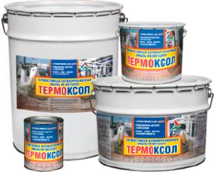 Термоксол — краска термостойкая по металлу ( ТУ 2312-025-98310821-2009 )