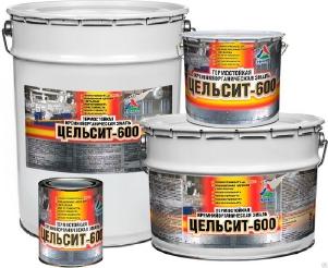 Цельсит-600 — кремнийорганическая термостойкая эмаль ( ТУ 2312-026-98310821-2009 )