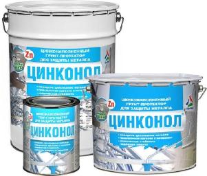 Цинконол — холодное цинкование металла ( ТУ 2312-008-98310821-2008 )
