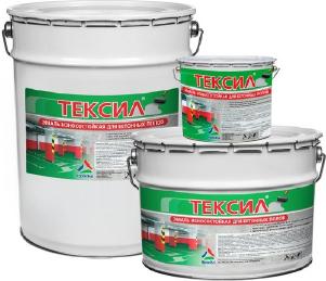 Тексил — износостойкая краска по бетону, краска для бетонных полов