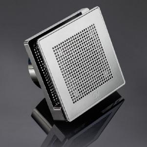 Вытяжной бытовой бесшумный вентилятор Punto Evo ME 100/4 LL T WHITE GOLD
