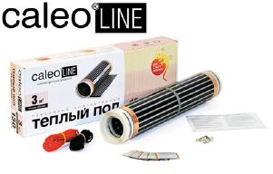 Тёплый пол инфракрасный Caleo Line 130 - 0,5 - 3,5 кв.м.