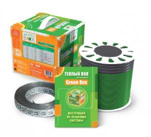 Теплый пол на катушке Green Box-850