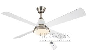 Люстра - вентилятор (потолочный вентилятор со светильником) Casafan Eco ConoL BN-WE RC (413236CAS)