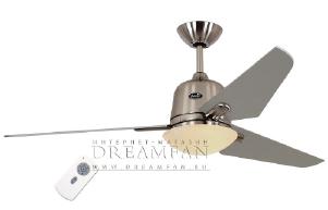 Люстра - вентилятор (потолочный вентилятор со светильником) Casafan Eco Aviatos 132 BN-SL RC