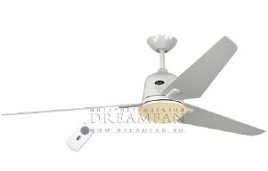 Люстра - вентилятор (потолочный вентилятор со светильником) Casafan Eco Aviatos 162 WE-WE RC