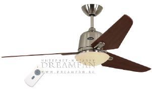 Люстра - вентилятор (потолочный вентилятор со светильником) Casafan Eco Aviatos 132 BN-KI RC