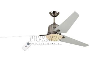 Люстра - вентилятор (потолочный вентилятор со светильником) Casafan Eco Aviatos 132 BN-WE RC