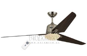 Люстра - вентилятор (потолочный вентилятор со светильником) Casafan Eco Aviatos 162 BN-NB RC