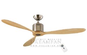 Потолочный вентилятор Casafan Aeroplan Eco 132 BN-NT RC (313247CAS)