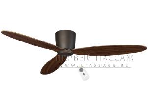 Потолочный вентилятор Casafan Eco Plano 132 BZ-NB RC (313262CAS)