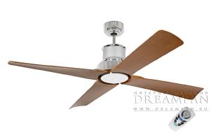 Люстра вентилятор уличного применения Winche Cromo 1L