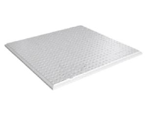 "Панель ""Албес"" AP600A6/45°/Т-24 А903 RUS белый матовый перф. d=1,5мм (600х600)/Tegular"