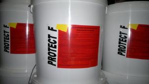 Краска огнезащитная Protect F до 90 минут,цвет серый