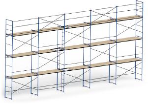 рама с лестницей для строительных лесов