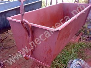 Ящик растворный каменщика ЯР-1 тара для бетона раствора.